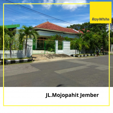 HOUSE FOR SALE AT JL. MOJOPAHIT JEMBER